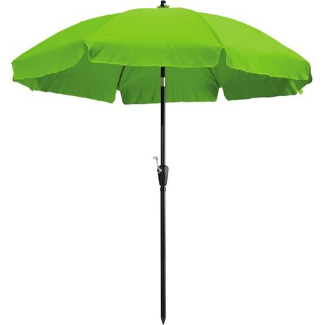 """main image of """"Madison Sombrilla Lanzarote verde manzana 250 cm - Verde"""""""