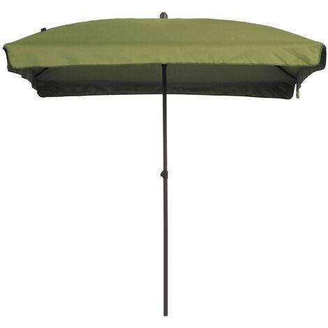 Madison Sombrilla Patmos rectangular 210x140 cm verde salvia - Verde