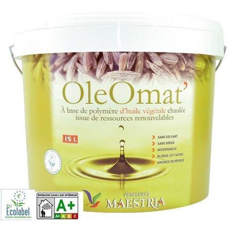 Maestria Oleomat Peinture Blanc 15l Oleomat15l