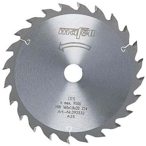 Mafell lame carbure 24 dents pour k85 - réf. 092591