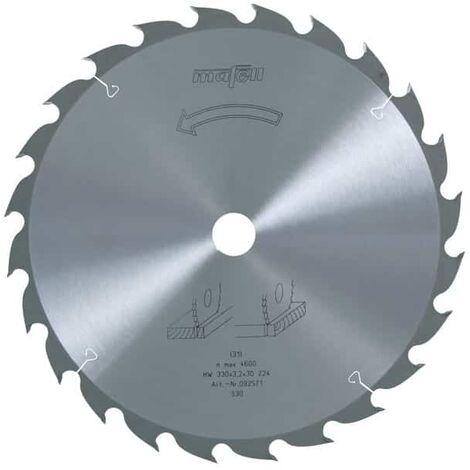 Mafell lame de scie circulaire 330mm z24 pour mks130 ec - 092571