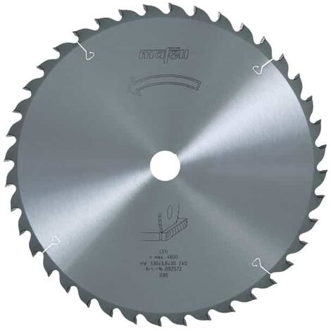 Mafell lame de scie circulaire 330mm z40 pour mks130 ec - 092572