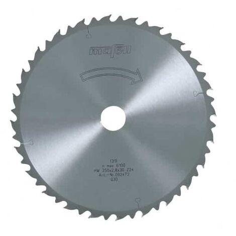 Mafell lame de scie circulaire au carbure 24 dents - 092472
