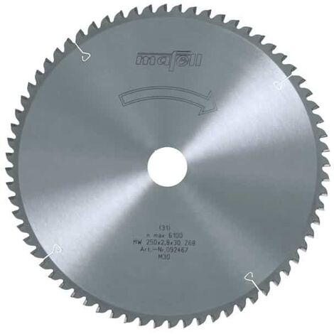 MAFELL Lame scie 250mm Z68 pour Erika 85Ec - 092467