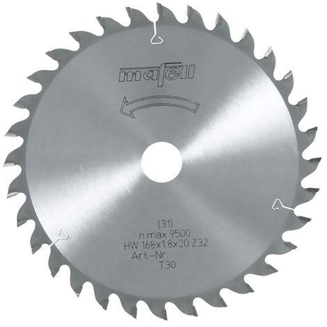 MAFELL Lames de scie carbure 168x1,2/1,8x20mm