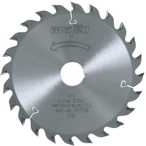 Mafell TCT Rip Cut Circular Saw Blade 120 x 20 x 1.8mm - 24 Teeth