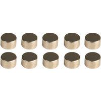 MagDev DCNI00734/N Neodymium Iron Boron 5x3mm N35H Disc Magnet Packs of 10