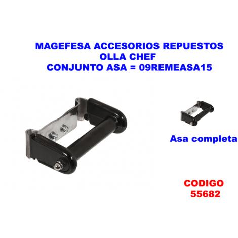 MAGEFESA ACC.OLLA CHEF CONJUNTO ASA=09REMEASA15