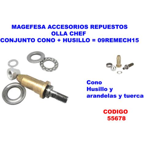 MAGEFESA ACC.OLLA CHEF CONJUNTO CONO+HUSILLO=09REMECH15