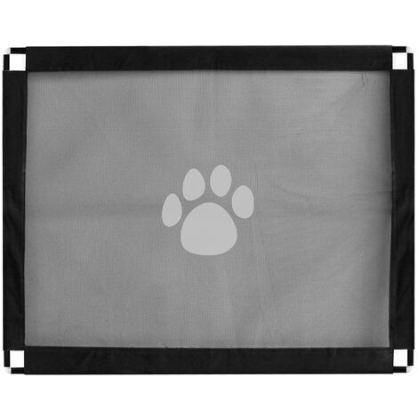 Magic Gate Pet Safety Gate Folding Portable Guard Net Fence Install Anywhere