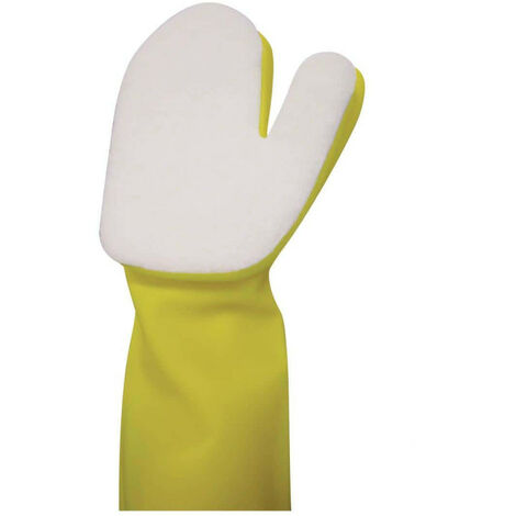 Magic glove for pool or spa cleaning - poolstyle