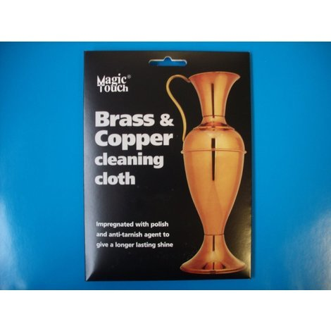 Magic Touch Brass & copper cleaning Cloth