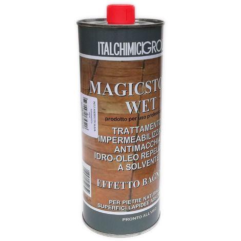 Magicstone wet 1lt impermeabilizzante trasparente a solvente
