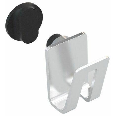 Magisso 70106 Support Eponge Acier Inoxydable/Aimants Argent 7 x 5 x 7,5 cm