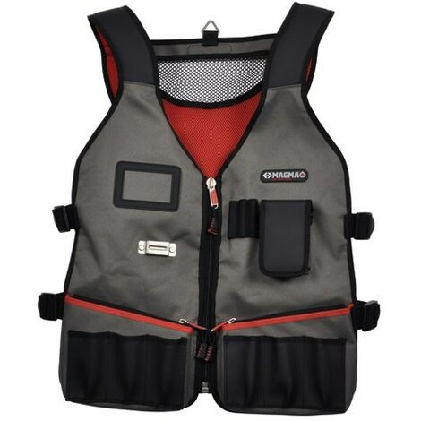 Magma MA2729 Technicians Tool Vest 14 Pockets