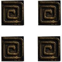 Magnet carré spirale