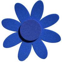Magnet fleur bleue