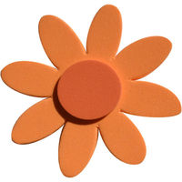 Magnet fleur orange