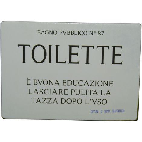 "Magnet ""Historischer"" Magnet Toilette"