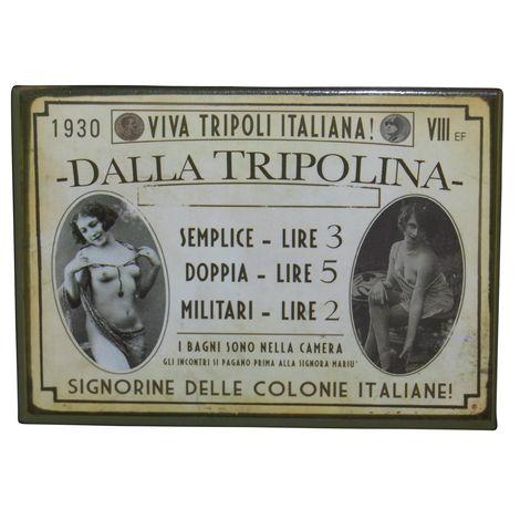 "Magnet ""Historischer"" Tripolina-Magnet"