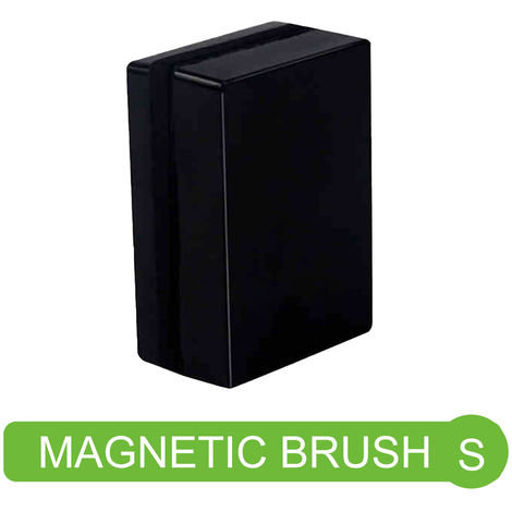 Magnetic Aquarium Fish Tank Algae Glass Cleaner Magnetic Clean Brush Suitable for Fish Tank Thickness 5-10mm