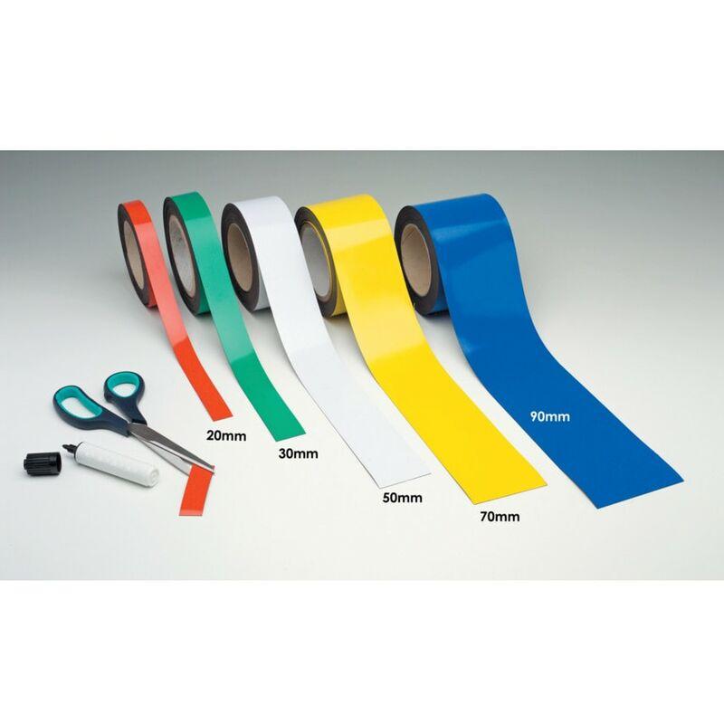 Image of Beaverswood Magnetic Easy Wipe Racking Strip Matt Black 20MMX10M