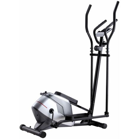 Magnetic Elliptical Trainer with Pulse Measurement