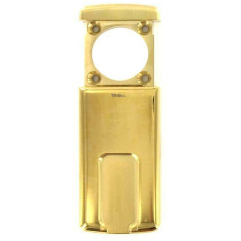 magnetic protection for 37mm diameter round cylinder maximum polished brass