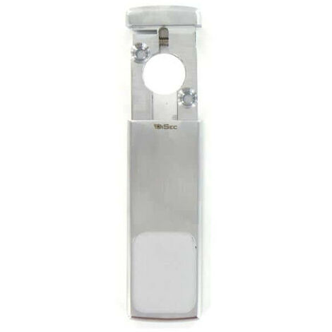 magnetic protection for European satin chrome cylinder
