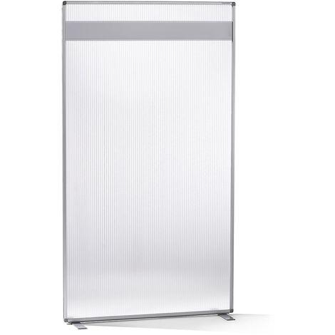 """main image of """"magnetoplan® Cloison modulaire - revêtement acrylique et baguettes magnétiques - hxlxp 1800 x 1000 x 500 mm - Coloris cadre: gris clair"""""""