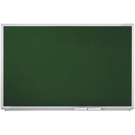 magnetoplan® Tableau pour craies - type SP - l x h 2200 x 1200 mm - Coloris du tableau: vert