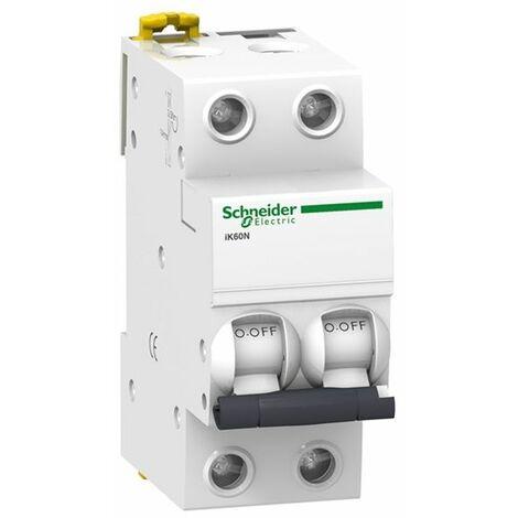 Magnetotérmico 2P 32A IK60N Schneider A9K17232