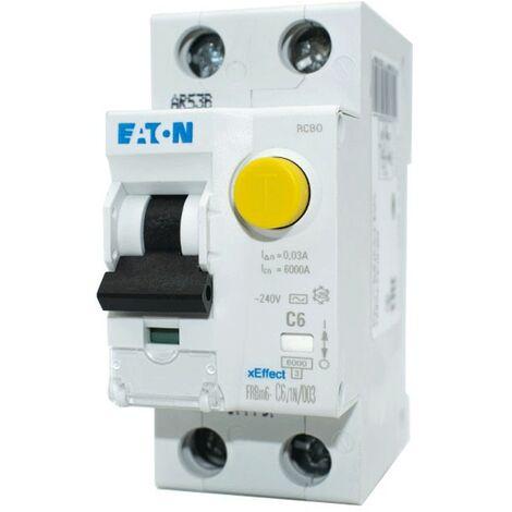 Interruttore magnetotermico differenziale AC 1P+N 20A 30ma 4,5KA EATON 237101