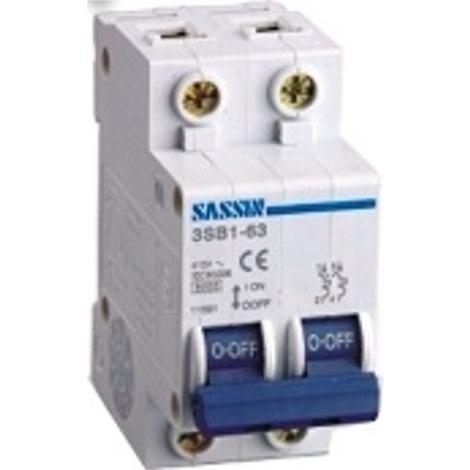 Magnetotérmico SASSIN 163H 2P 16A