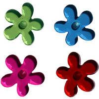 Magnets fleurs