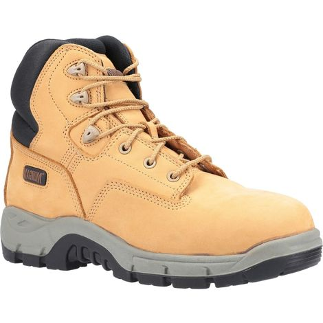 Magnum Mens Precision Sitemaster Composite Toe Nubuck Leather Safety Boot