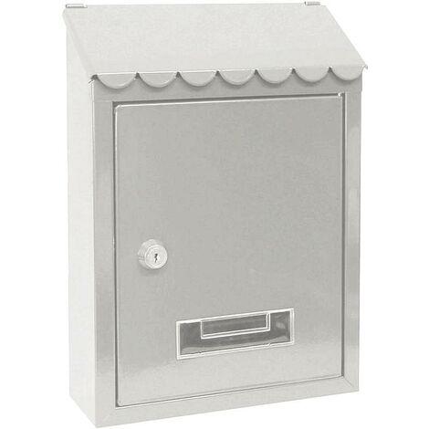 MAIL BOX 30X21X6 CAPRI GRAY