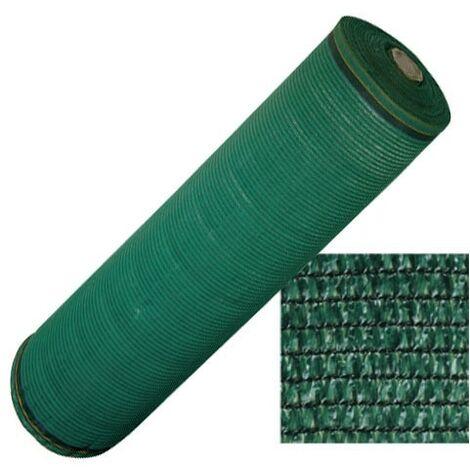 """main image of """"Filet d'ombrage en rouleau L100 x h4 m œillets brise-vue vert extérieur Sombrero"""""""