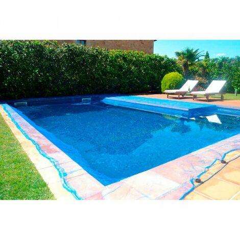 """main image of """"Bâche piscine anti-feuille et insectes 4 x 4 m carré"""""""