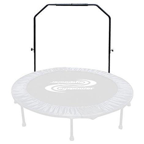 Main courante 98x128cm Poignée de trampoline réglable Poignée de trampoline Main courante Mât de trampoline