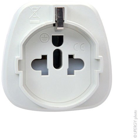 Mains adaptor EU to UK plug (AC)