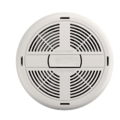 Mains Powered Ionisation Smoke Alarm with Alkaline Battery Back-up - BRK 670MBX