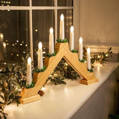 Mains Powered LED Candle Bridge Light