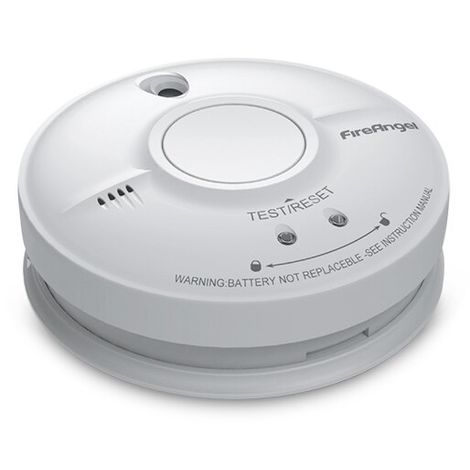 Mains Powered Optical Smoke Alarm with 9V Back-up Battery - FireAngel SW1-R