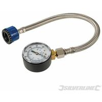 Mains Water Pressure Test Gauge - 0-11bar (0-160psi) (482913)