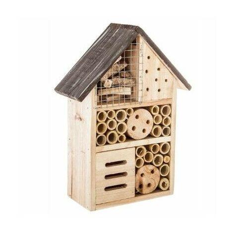 Maison à insecte - 19 x 9 x H 26 cm - Modèle aléatoire