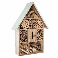 Maison à insecte - 26 x 10 x H 37,5 cm - Modèle aléatoire