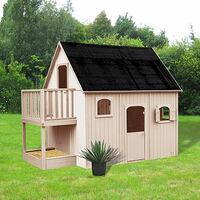 Maison De Jardin En Duplex 305x21x25 M En Pin