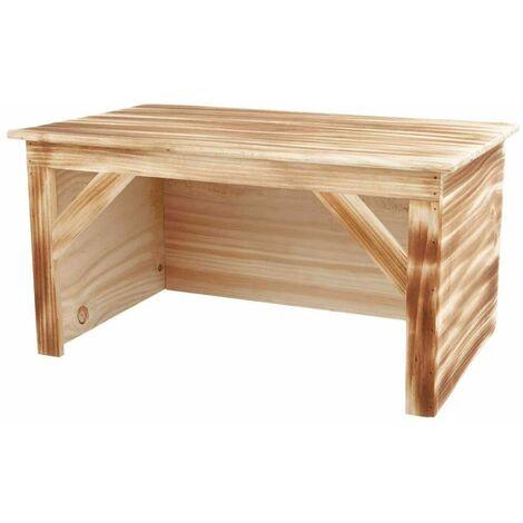 Maison, lapin, en bois/flammée - 50 × 26 × 31 cm