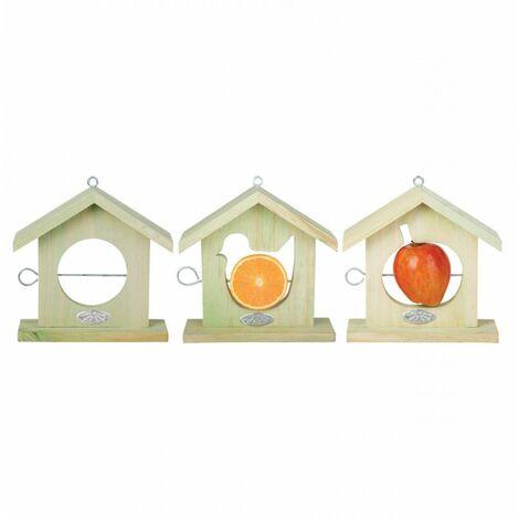 Maison oiseaux à pomme